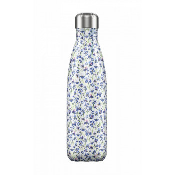 Botella Isotérmica Chilly's Bottle Edición Floral Iris 500 ml
