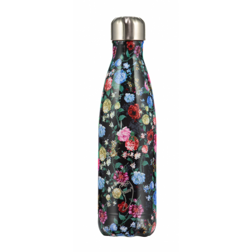 Botella Isotérmica Chilly's Bottle Edición Floral Rosas 500 ml
