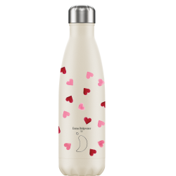 Botella Isotérmica Chilly's Edición Emma Bridgewater Corazones 500 ml