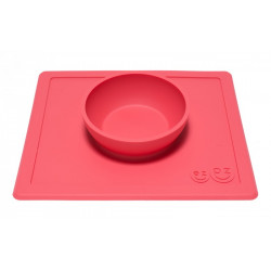 Cuenco Happy Bowl Coral (Rojo)