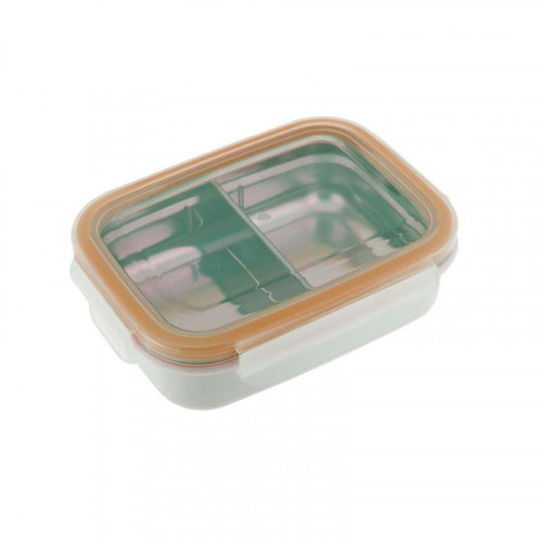 Bento Box Acero Inoxidable Naranja