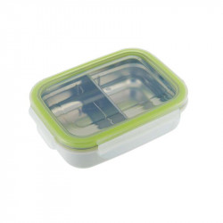 Bento Box Acero Inoxidable Verde