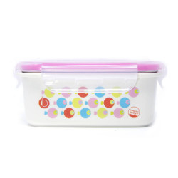 Bento Box Acero Inoxidable Peces Rosa