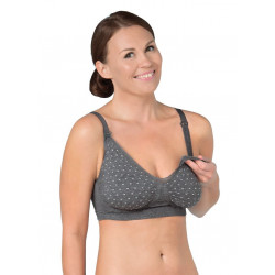 Sujetador lactancia Seamless GelWire Lunares Carriwell Talla S