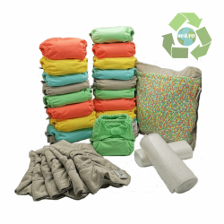 Pack 20 unidades Pop-In Bambú colores pastel V2